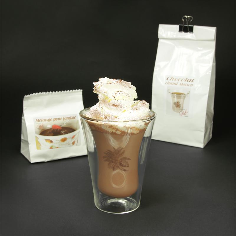 Chocolat chaud, fondu etc..