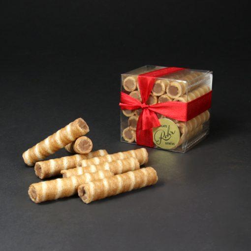 gaufres pralinées cube rohr