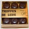 Truffes luxe noire 9 pièces
